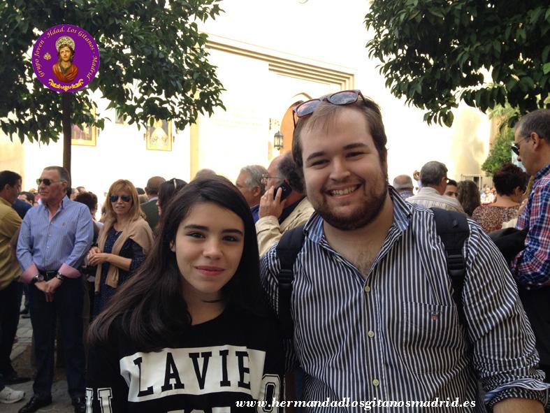 2013 Sevilla XXV aniversario coronacion grupo joven