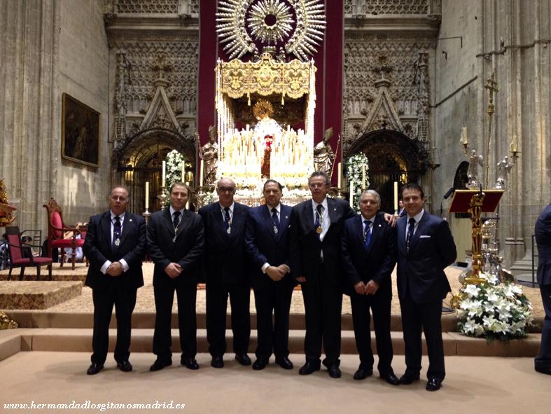 2013 Sevilla XXV aniversario coronacion