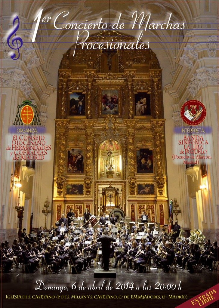 cartel concierto de la Lira