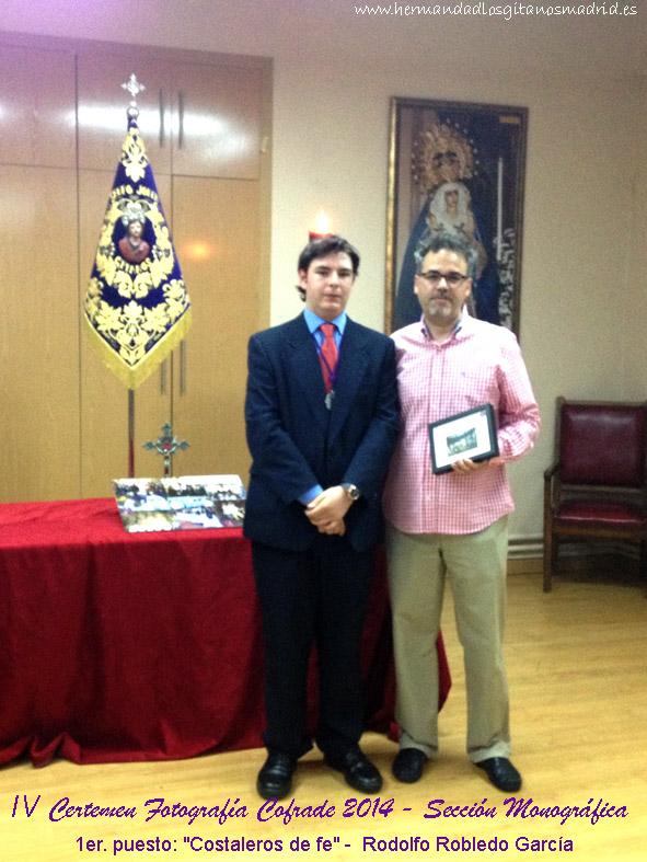 1er. puesto Costaleros de fe -  Rodolfo Robledo Garcia