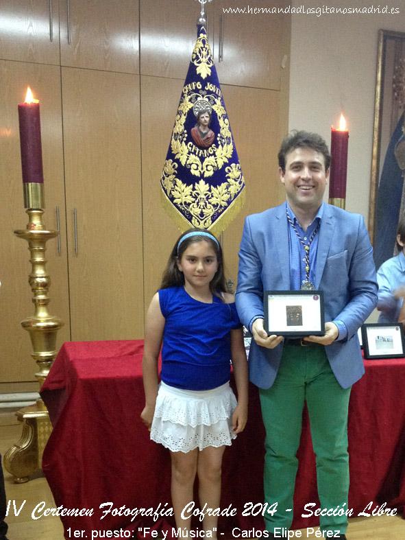 1er. puesto  Fe y Musica -  Carlos Elipe Perez