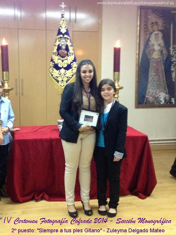 2º puesto Siempre a tus pies Gitano - Zuleyma Delgado Mateo